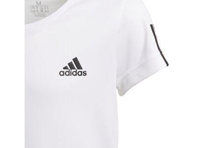 adidas Mädchen Equipment T-Shirt Grau