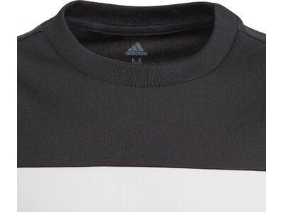 adidas Jungen Equipment T-Shirt Schwarz