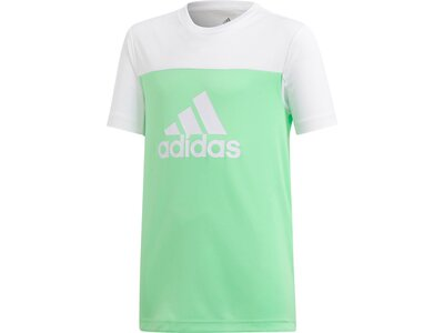ADIDAS Kinder T-Shirt Equipment Grün