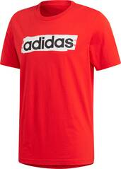 ADIDAS Herren Linear Brush T-Shirt