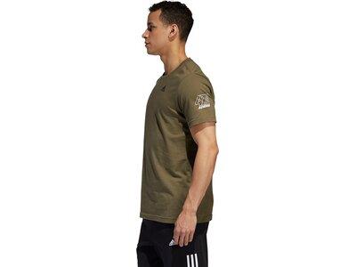 ADIDAS Herren T-Shirt Sport ID 360 adi Braun