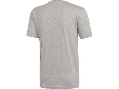 ADIDAS Herren T-Shirt Emblem Grau