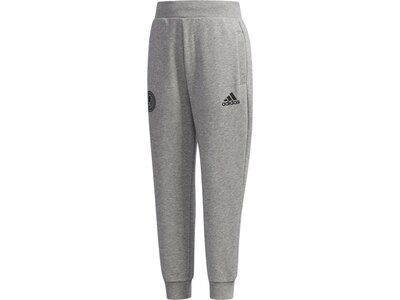 ADIDAS Kinder French Terry Hose Grau