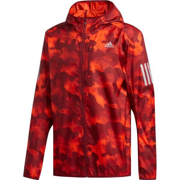ADIDAS Herren Own the Run Camouflage Jacke