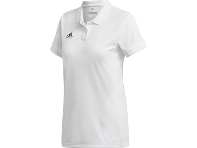 ADIDAS Damen Team 19 Poloshirt Grau