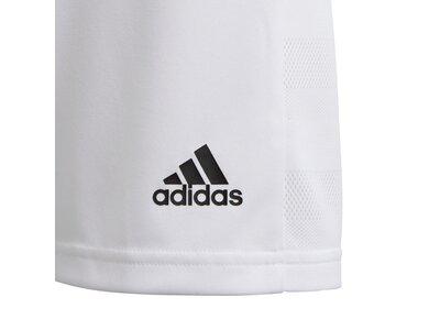 ADIDAS Fußball - Teamsport Textil - Shorts Team 19 Knitted Short Kids Grau