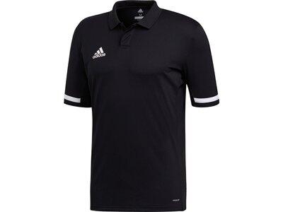 ADIDAS Herren Team 19 Poloshirt Schwarz