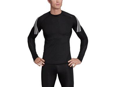 ADIDAS Herren Shirt ASK SPR LS 3S Schwarz