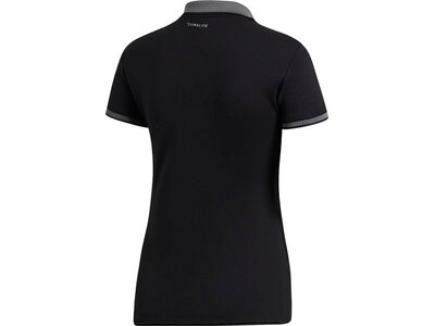 ADIDAS Damen Polo CLUB Schwarz