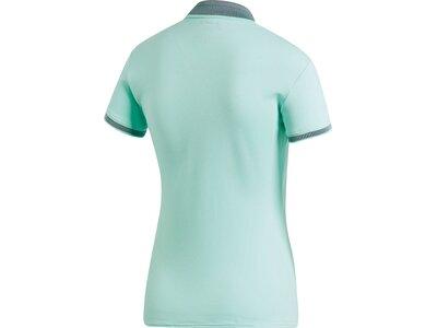ADIDAS Damen Club Poloshirt Silber