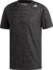 ADIDAS Herren FreeLift Tech Fitted Striped Heathered T-Shirt