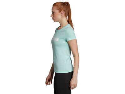 ADIDAS Damen T-Shirt Essentials Linear Grün