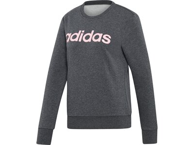 ADIDAS Damen Essentials Linear Sweatshirt Grau