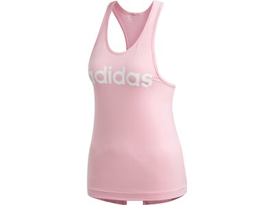 ADIDAS Damen Tanktop Design 2 Move Logo Pink