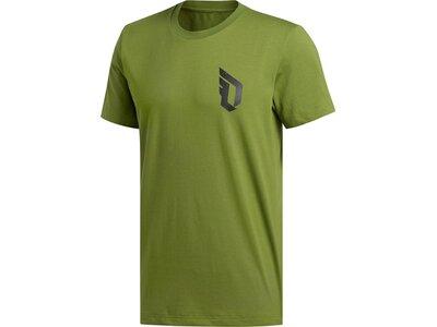 ADIDAS Herren T-Shirt Dame Verb Grün