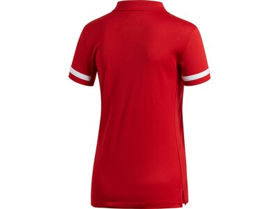 ADIDAS Damen Team 19 Poloshirt Rot