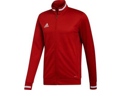 ADIDAS Herren Team 19 Trainingsjacke Rot