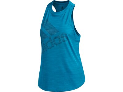 ADIDAS Damen T-Shirt Badge of Sport Blau
