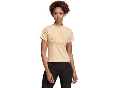ADIDAS Damen T-Shirt ID Glam Pink