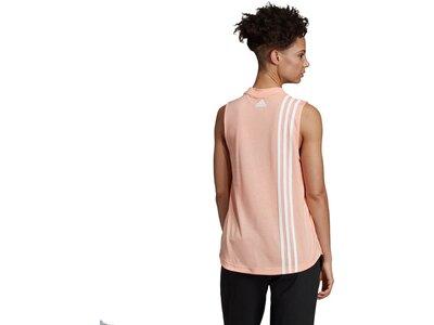 ADIDAS Damen Tanktop Must Haves 3-Streifen Pink
