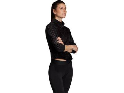 ADIDAS Damen Sport ID Oberteil Schwarz