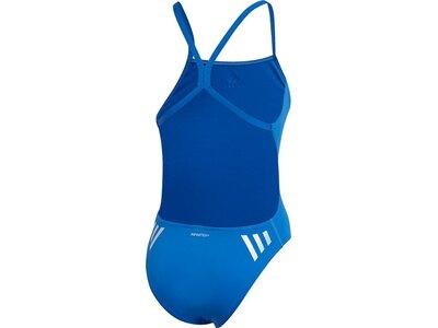 ADIDAS Damen 3-Streifen Badeanzug Braun