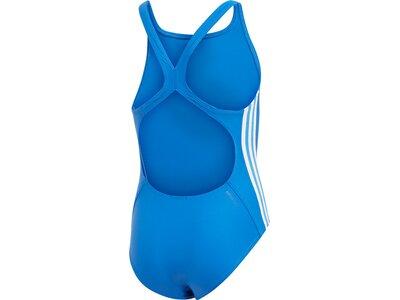 ADIDAS Kinder Badeanzug FIT SUIT 3S Y Blau