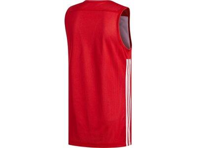 adidas Herren 3G Speed Reversible Trikot Rot
