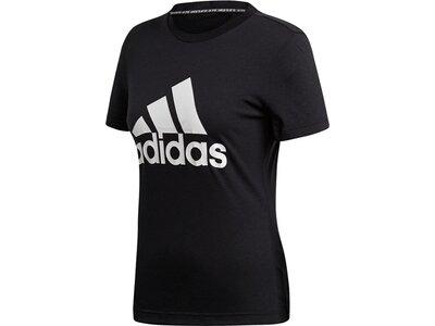 ADIDAS Damen T-Shirt Must Haves Badge of Sport Schwarz
