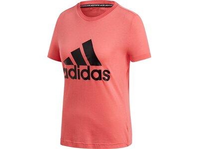 ADIDAS Damen Shirt W MH BOS TEE Braun
