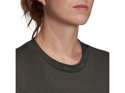 ADIDAS Damen T-Shirt Must Haves Badge of Sport Grau