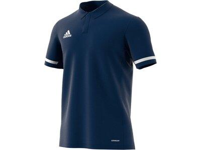 ADIDAS Herren Team 19 Poloshirt Blau