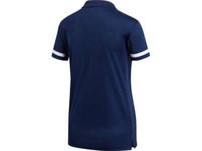 ADIDAS Damen Team 19 Poloshirt Blau