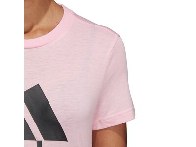 ADIDAS Damen T-Shirt Must Haves Badge of Sport Grau