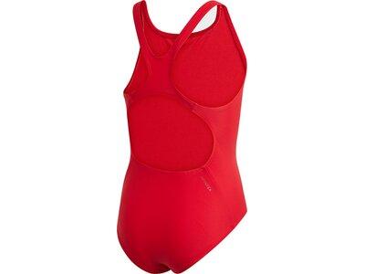 ADIDAS Kinder Badge of Sport Badeanzug Rot