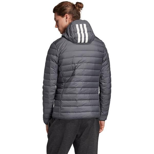 ADIDAS Herren Varilite Soft 3-Streifen Hooded Jacke