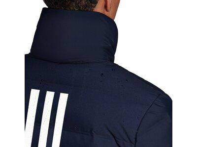adidas Herren HELIONIC 3-STRIPES DAUNENJACKE Schwarz
