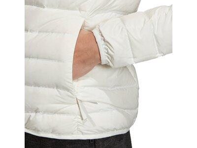 ADIDAS Damen Varilite 3-Streifen Soft Hooded Daunenjacke Grau
