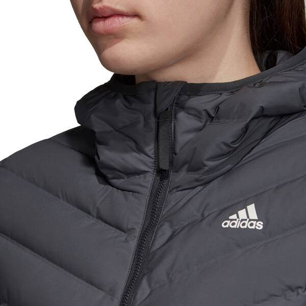 ADIDAS Damen Varilite 3-Streifen Soft Hooded Daunenjacke