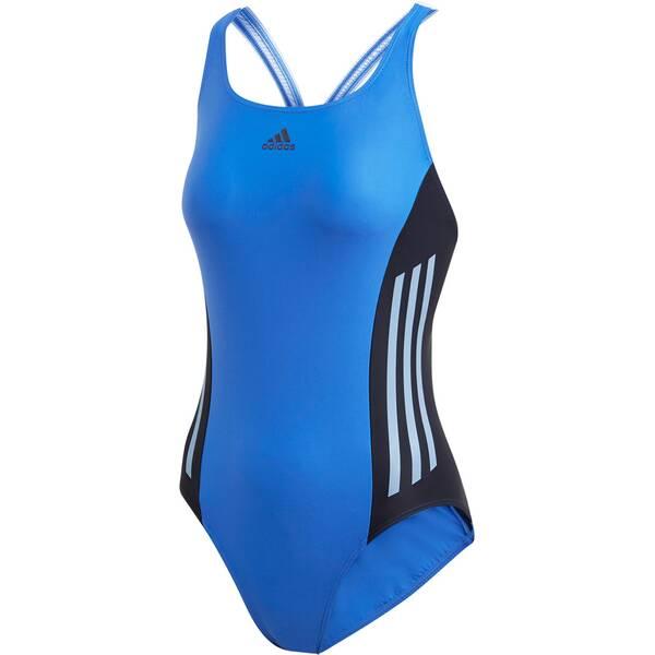 Bademode - ADIDAS Damen Colorblock Badeanzug › Blau  - Onlineshop Intersport