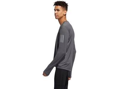 ADIDAS Herren Own the Run Longsleeve Grau