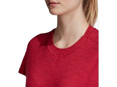 ADIDAS Damen Shirt ID Winn At Rot