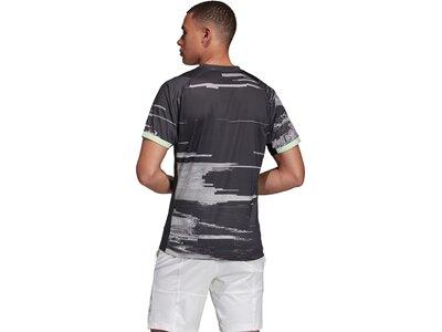 ADIDAS Herren New York T-Shirt Silber