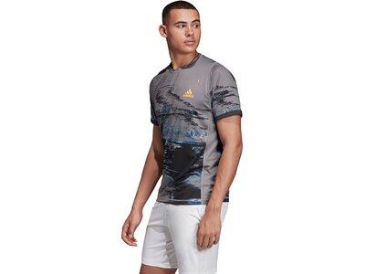 ADIDAS Herren New York T-Shirt Grau