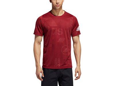 ADIDAS Herren Shirt DAILY PRESS Rot