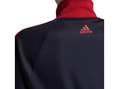 ADIDAS Damen ID 3-Streifen Snap Trainingsjacke Schwarz