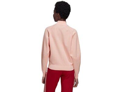 ADIDAS Damen Kapuzensweat ID Knit TT Rot
