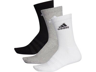 ADIDAS Lifestyle - Textilien - Socken Cush Crew 3er Socken Silber