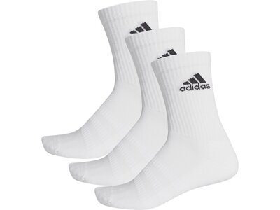 adidas Cushioned Crew Socken, 3 Paar Grau