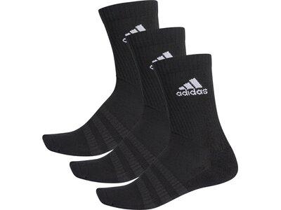 adidas Cushioned Crew Socken, 3 Paar Schwarz